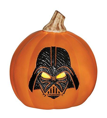 Star Wars Darth Vader Light up Pumpkin, 6