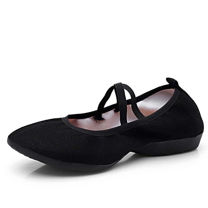 RegbKing Zapatos De Baile Mujer Alpargatas Mocasines Dama Zapatos De Ballet: Amazon.es: Ropa y accesorios
