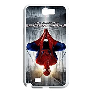 Samsung Galaxy Note 2 7100 White Cell Phone Case The Amazing Spiderman LWDZLW2136 Unique Phone Case Clear