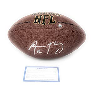 Aaron Rodgers Green Bay Packers Signed Autograph NFL Replica Football Steiner Sports Certified