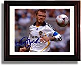 Framed David Beckham - LA Galaxy Autograph Replica Print