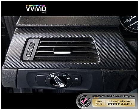 60 x 12 VViViD XPO Dry Carbon Black Vinyl Wrap Decal Sheet