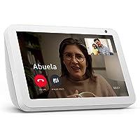 """Echo Show 8 - Pantalla inteligente HD con Alexa de 8"""" – mantente comunicado con videollamadas - Blanco"""