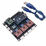 xlpace USB CNC 3 Axis Stepper Motor USB Driver Board Controller DIY Engraver Control Board For GRBL