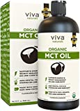 Top-Grade USDA Organic MCT Oil (32 fl oz) - Keto Friendly, Paleo Diet Certified, and Non-GMO Project...