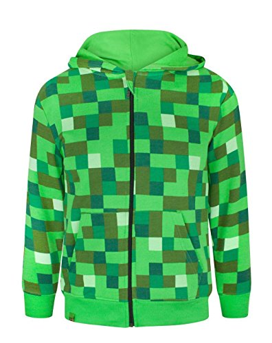 Minecraft Creeper Boys Hoodie NewsJSde Bekleidung - Skins fur minecraft creeper