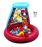 Mickey Mouse Club House Color N' Play Activity Ball Pit, 1 Inflatable & 20 Sof-Flex Balls, Blue/Red/Yellow, 37'' W x 37'' D x 34'' H