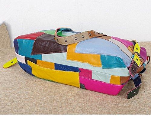 28cm 17cm femme pour Couleurs mélangées Couleurs Pochette Multicolore 18cm mélangées Eysee FqAHH