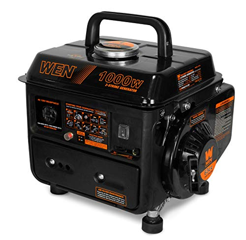 WEN 56105 1000-Watt Portable Generator, CARB Compliant (Best Generator For Tailgating)