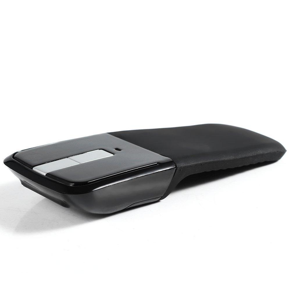 para Mac Macbook 10m Range Plegable y Port/átil Nifogo ARC Rat/ón Plegable Inal/ámbrico 2.4G USB Wireless Mouse