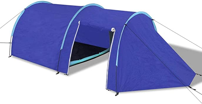Tidyard - Tienda de campaña ultraligera para 4 personas, cortinas de senderismo/tienda canadiense Igloo, 395 x 180 x 110 cm, plegable/impermeable: Amazon.es: Hogar