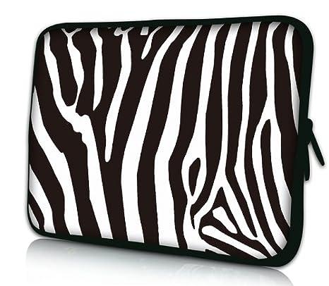Luxburg® Design Funda Blanda Bolso Sleeve para Ordenador Portátil / MacBook de 15,6 pulgadas, motivo: Cebra: Amazon.es: Electrónica