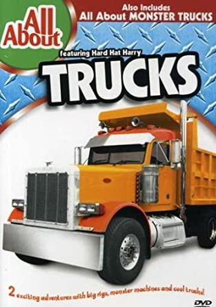 All About Trucks >> Amazon Com All About Trucks And Monster Trucks All About Movies Tv