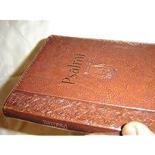 The Book of Psalms in Croatian Language / Brown Leather Bound, Golden Edges / Psalmi / Preveo Ivan Evandelist Saric / 1. izdanje Verbum