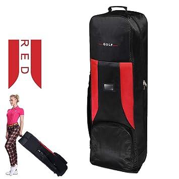 Bolsa Acolchada de Golf roja - Bolsa de Aire de Golf - Airbag ...