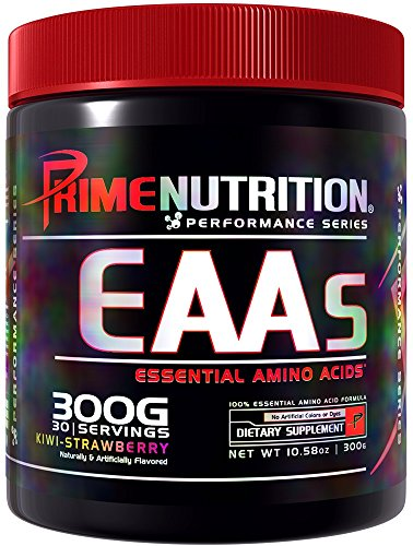 Prime Nutrition Eaa Supplement, Kiwi Strawberry, 300 Gram by Prime Nutrition