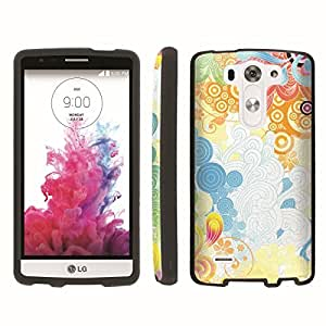 [ArmorXtreme] Designer Image Shell Cover Hard Case (Wave Rainbow) for LG G3 Vigor
