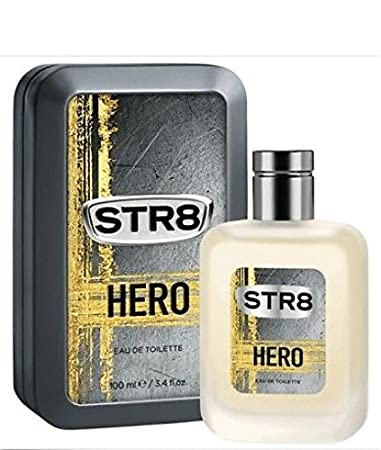 Amazoncom Str8 Hero Eau De Toilette Cologne Men 100ml 34 Floz