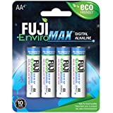 Fuji EnviroMAX Super Digital Alkaline Eco Friendly Batteries (Pack of 24, AA)