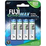 Fuji EnviroMAX Super Digital Alkaline Eco Friendly Batteries (Pack of 8, AA)