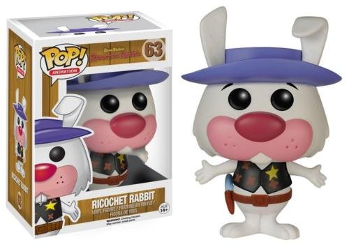 Funko POP! Television Hanna Barbera Series 2 Ricochet Rabbit Vinyl Figure 63 by Unbranded