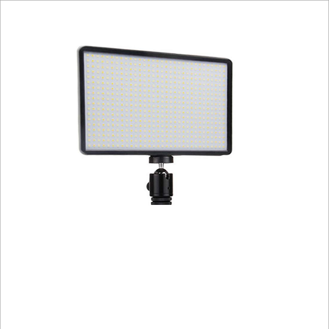 ノウ建材貿易 LEDの写真は常に光を満たしますフォトフィルライトカメラは光をライトLED600すべてのブランドのカメラユニバーサル (色 : 黒)  黒 B07R3Y5TJF