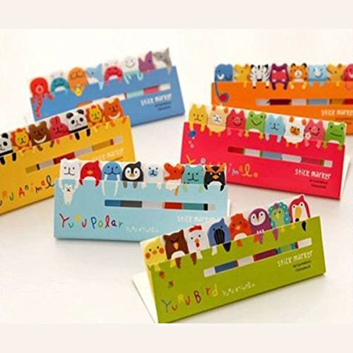 120page-cute-animal-sticker-post-it-bookmark-marker-memo-index-tabs-sticky-notes