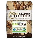 Mexican Half Caf Organic, Whole Bean, Fresh Roasted Coffee LLC (5 Lb.)