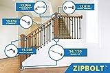 Zipbolt 11.560 Angled Railbolt – Angled Staircase