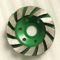 Raomdityat 1pc Concrete Turbo Diamond Grinding Wheel for Angle Grinder