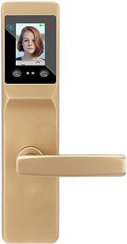 Cerradura de puerta inteligente, reconocimiento facial ...
