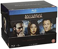 Battlestar Galactica: The Complete Series [Blu-ray] [Region-Free] from Imports