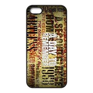 Customize Famous Rock Band A Day To Remember Back Case for iphone5 5S JN5S-2219