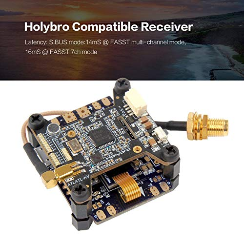 Wikiwand Holybro Compatible Receiver for FUTABA Fasst T8FG T14FG 12Z T18MZ for RC Drone by Wikiwand (Image #3)