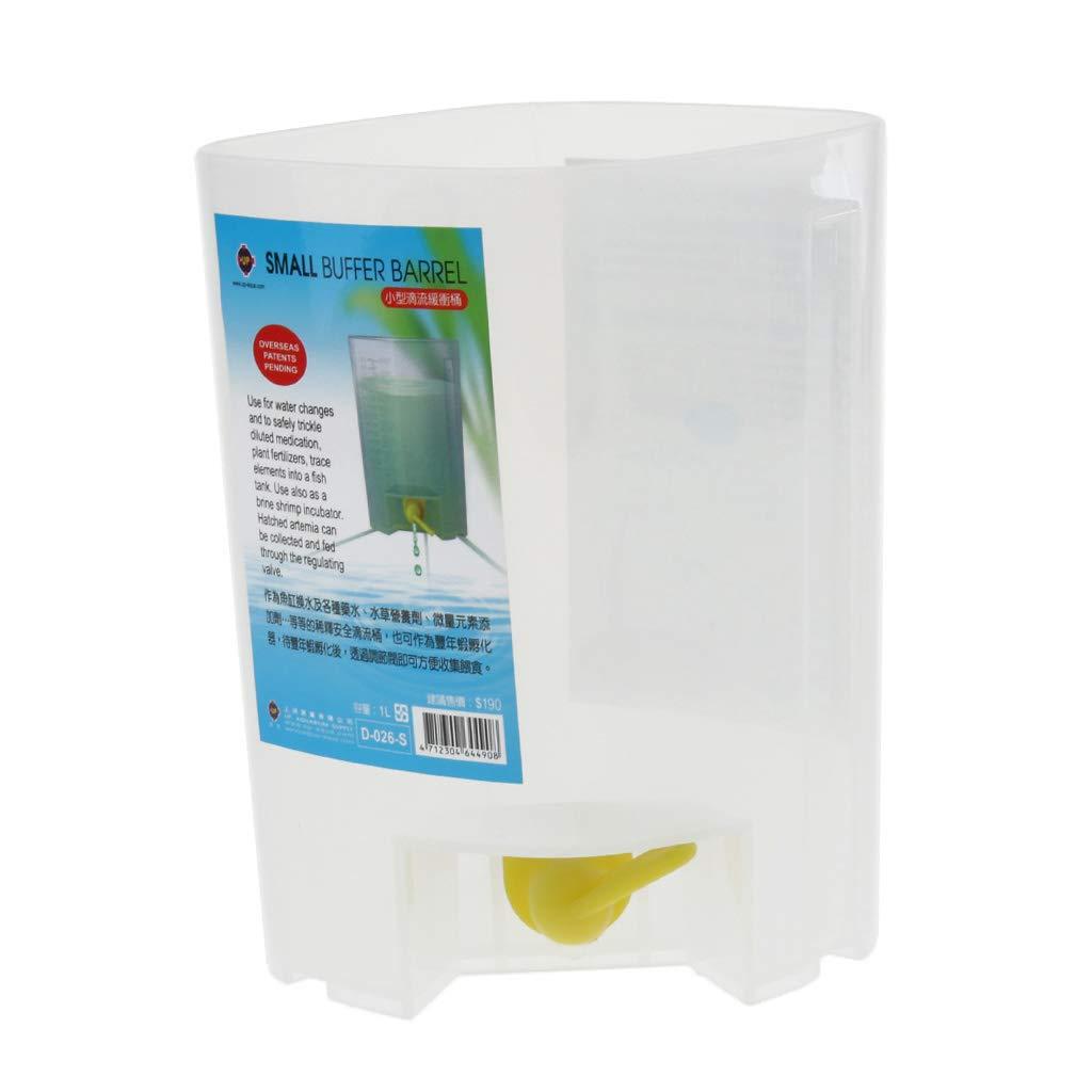 1L Homyl Barril Goteo Cubo Agua Cambia Accesoiros Acuario Decorativo Resistente Duradero