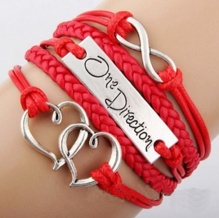 one direction charm bracelet - 5