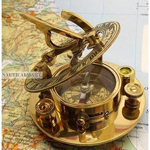 Sundial Nautical - NauticalMart Brass Sundial Compass 3