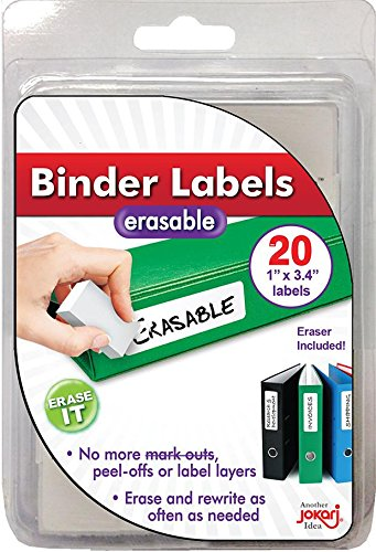 Top Binder Labels