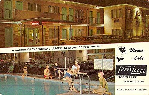 moses-lake-washington-travelodge-multiview-vintage-postcard-k48868