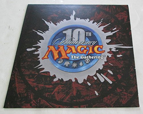 Magic the Gathering - 10th Anniversary RSVP Invitatition Promo (2003)