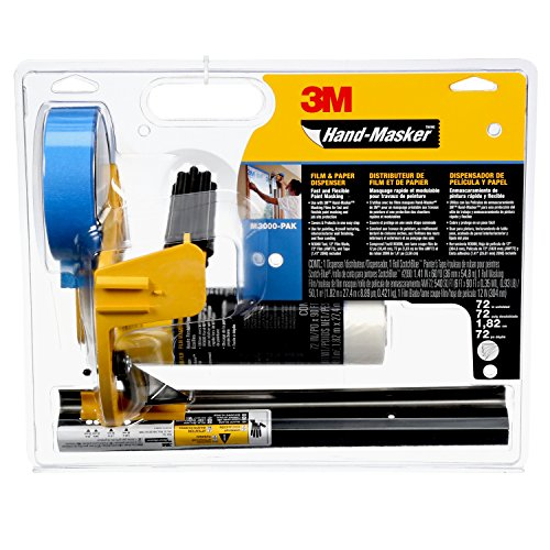3M Hand-Masker Pre-assembled Masking Film Kit by 3M