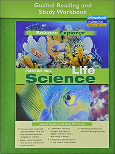 PRENTICE HALL SCIENCE EXPLORER LIFE SCIENCE GUIDED READING AND ...