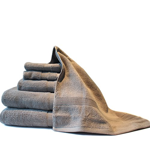 Amor&Amore Luxury Hotel & Spa Bath-100% Cotton 6-Piece Towel