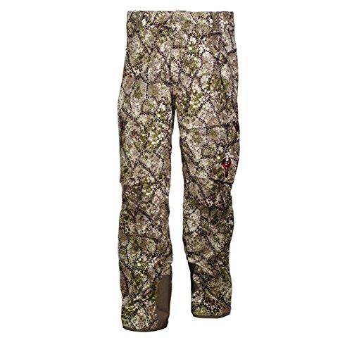 Badlands Men's Alpha Waterproof Pants Polyester Approach Camo Medium
