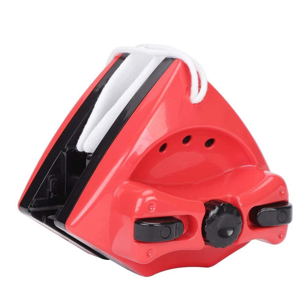 Lavavetri Magnetico Pulitore Elettrici per Finestre Vetrine con Doppio Magnete Spazzola per Pulire Professionale Automatico Vetri Pulisci per Esterni Doccia Fdit