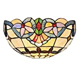 Chloe Lighting CH33313VI12-WS1 Cooper Tiffany-Style Wall Sconce with 12