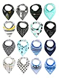 Best unknown Baby Monitors - Baby Bandana Bib Set, 16-Pack Super Absorbent Drool Review