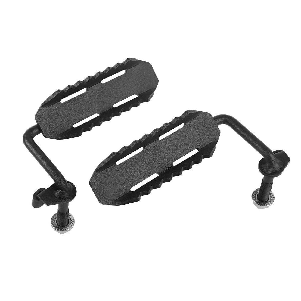 AUXMART Foot Pegs for 2018-2019 Jeep Wrangler JL Black - Pair- (C1 Style) by AUXMART (Image #6)