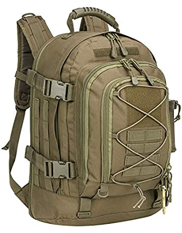 784cd93be5f827 PANS Military Expandable Travel Backpack Tactical Waterproof Outdoor 3-Day  Bag,Large,Molle