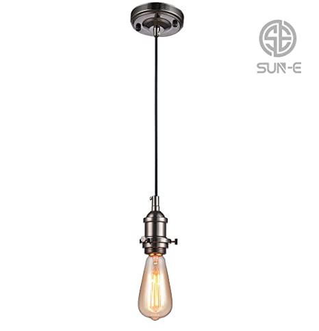 Sun-E -Lámpara vintage de techo, estilo retro antiguo